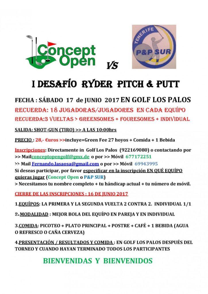 LOS PALOS - I RYDER CONCEPT OPEN VS. PP SUR 17 DE JUNIO 2017-Esp.
