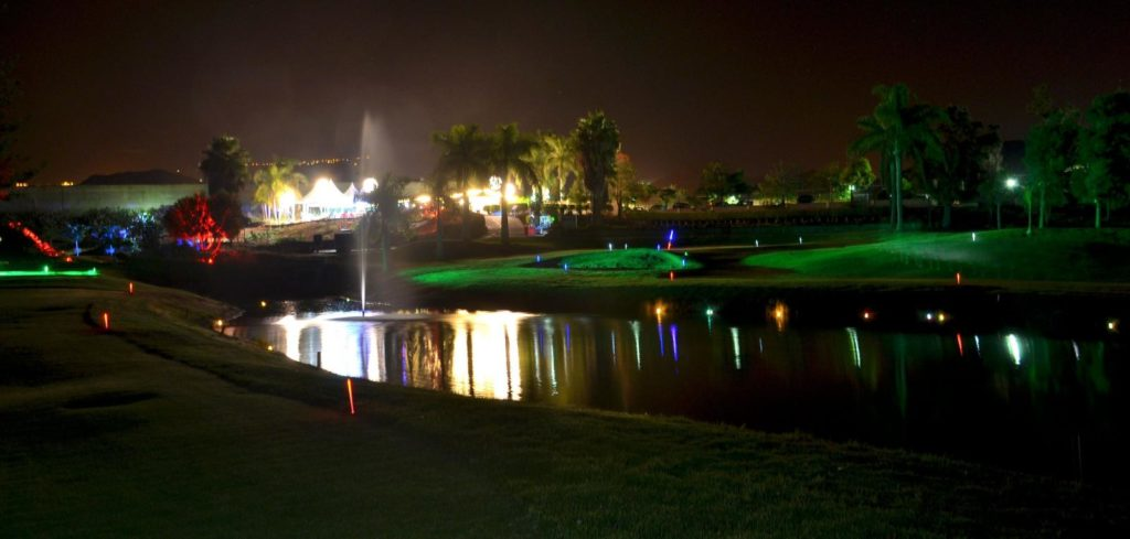 Golf Los Palos by Night
